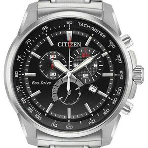 Citizen Eco Drive Brycen Multi Dial 44mm Watch